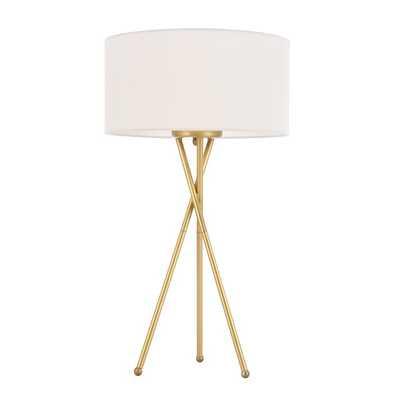 "Wisniewski 22"" Tripod Floor Lamp - Wayfair"
