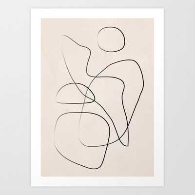 Abstract Line I Art Print - Society6