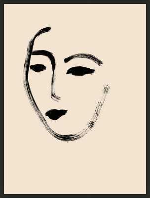 Her  BY MELISSA SELMIN - Artfully Walls