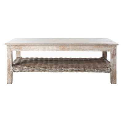 Sephina Coffee Table with Storage - Wayfair