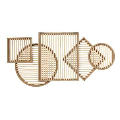 Rattan Statement Wall Décor - Wayfair