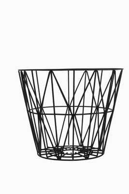 Black Wire Basket by Ferm Living - Burke Decor