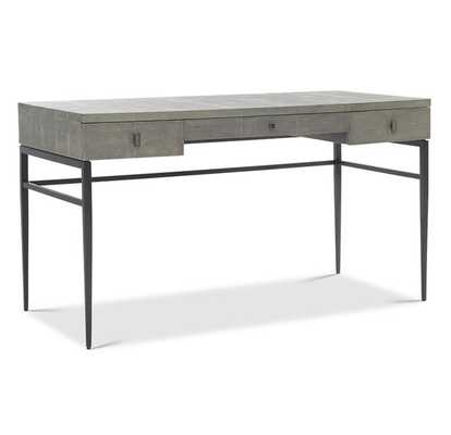 SOLANGE DESK - GRAY - Mitchell Gold + Bob Williams