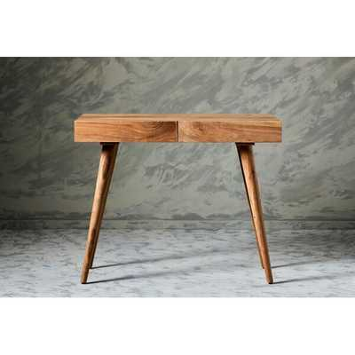 Chicago Solid Wood Desk - Wayfair
