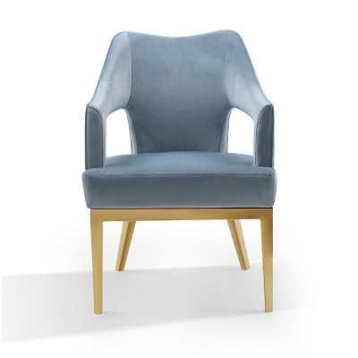 Teitelbaum Armchair - Blue - Wayfair