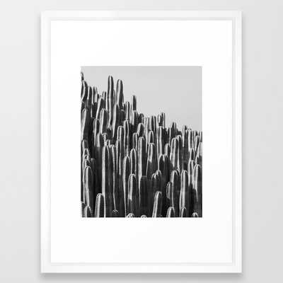 Cactus Landscape Framed Art Print - Society6