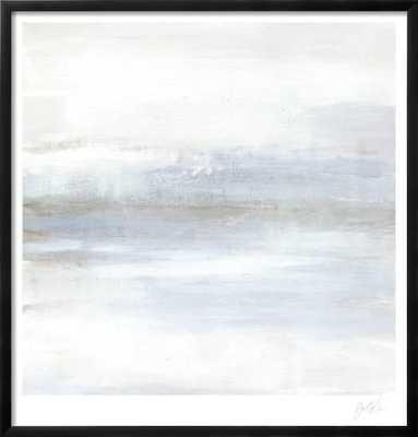 """Cape Horizon I - 26"""" x 26"""" - CHELSEA Black - 0.75"""" Wide - art.com"""