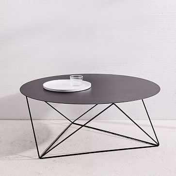 Eric Trine Octahedron Coffee Table, Black - West Elm