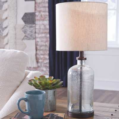 Batty 22'' Clear Table Lamp - Wayfair