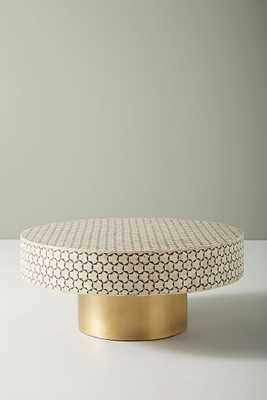 """Targua Moroccan Coffee Table; Charcoal; 36"""" - Anthropologie"""