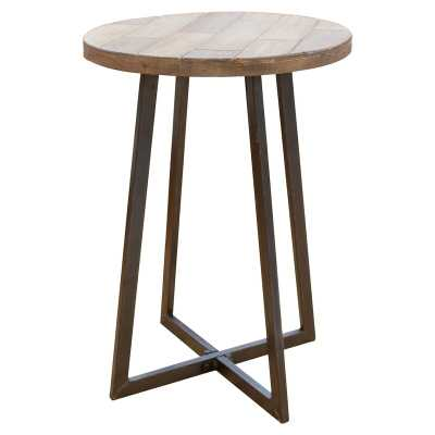Tisbury Rustic Wood End Table - Wayfair