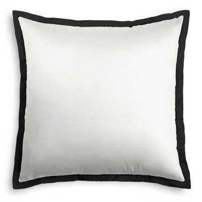 Euro Sham - Lush Linen White - Loom Decor