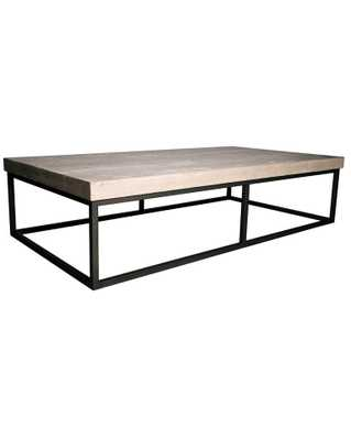 LEWIS COFFEE TABLE, LARGE - McGee & Co.