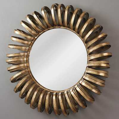 WIRE WHEEL WALL MIRROR - Shades of Light