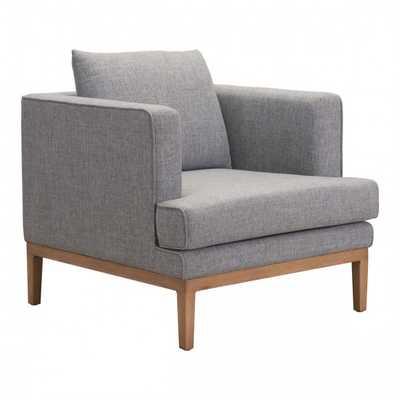 Eden Arm Chair Gray - Zuri Studios
