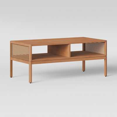 Minsmere Caned Coffee Table Natural Brown - Opalhouse™ - Target
