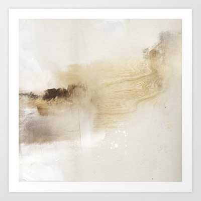 untitled works on paper. Lithograph, graphite, and ink Art Print - Society6