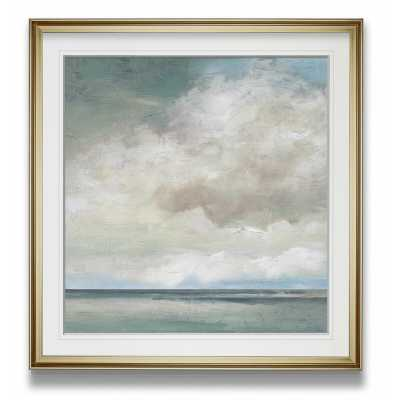 "Cloudscape VII - Picture Frame Painting Print on Canvas / 27""W x 27""H - Wayfair"