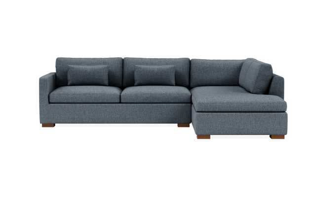 "Charly Right Bumper Sectional, 120"" x 83"" - Interior Define"