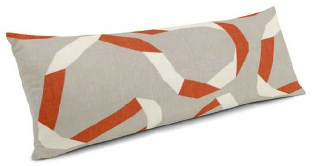 """Vento Ribbon - Persimmon 12"""" x 24"""" - Loom Decor"""