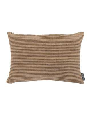 Devin Silk Stripe Pillow Cover - McGee & Co.