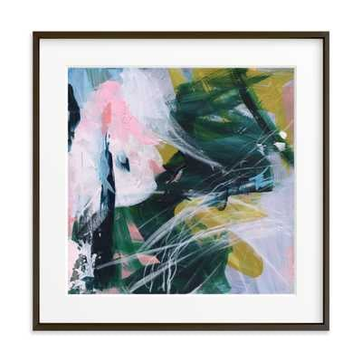 arm in arm - 24X24 - matted w/ matte black frame - Minted