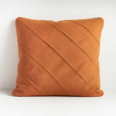 "Theta Clay Pillow 20"" - Crate and Barrel"