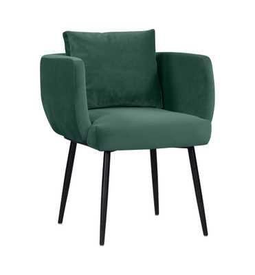 Alicia Forest Green Velvet Dining Chair - Maren Home