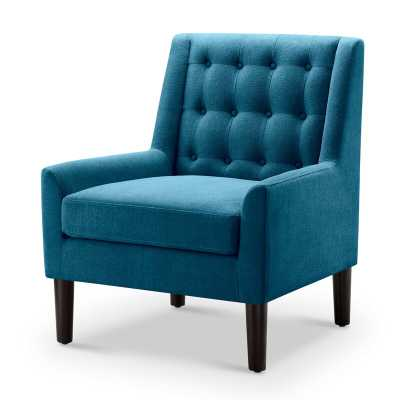 Wittenberg Side Chair - Teal - Wayfair