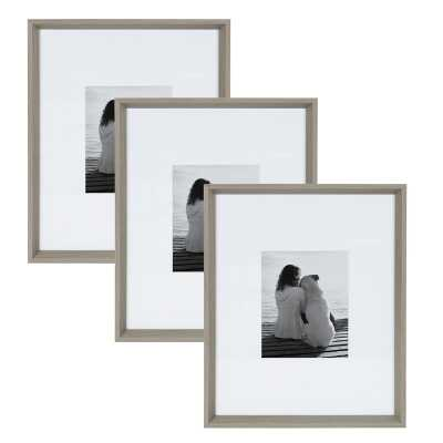 Gatsby Matted Wall Picture Frame (Set of 3) - Wayfair