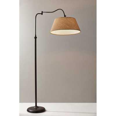 """Florance 61"""" Swing Arm Floor Lamp - Birch Lane"""