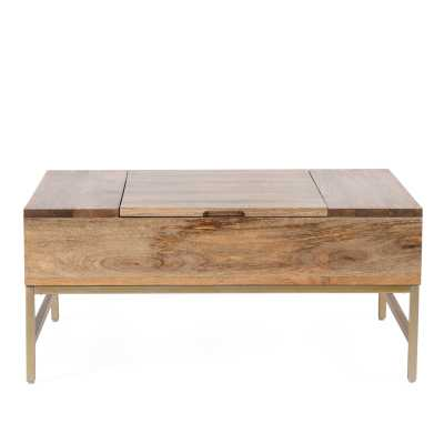 Kassidy Lift Top Coffee Table with Storage - Wayfair