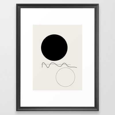 "Abstract 07 Framed Art Print 20 x 26"" - Society6"