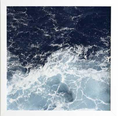 """Sea Swish, 20""""sq. - Wander Print Co."""