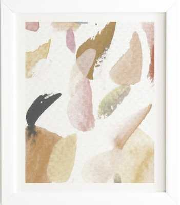 ABSTRACTM3 White Framed Wall Art - Wander Print Co.