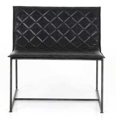 Toni Accent Chair, Charcoal - Lulu and Georgia