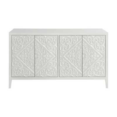 Universal Furniture Dawson TV Stand - White - Hayneedle