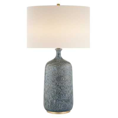 CULLODEN TABLE LAMP - BLUE LAGOON - McGee & Co.
