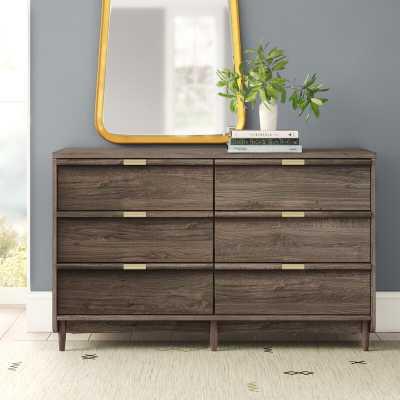 Broadridge 6 Drawer Double Dresser - AllModern