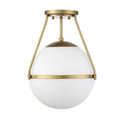 Michaela 1-Light Semi Flush Mount - AllModern