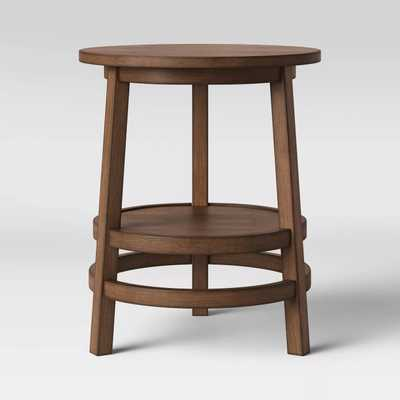 Haverhill Round Reclaimed Wood End Table - Threshold™ - Target