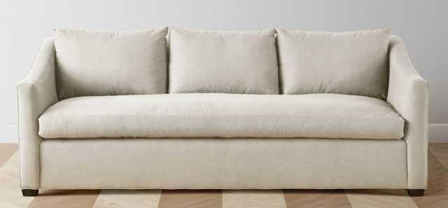 "The Sullivan - 90"" Sofa Performance Linen Creme - Maiden Home"