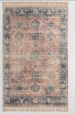 Persian Style Alma Indoor Outdoor Rug With Backing - World Market/Cost Plus