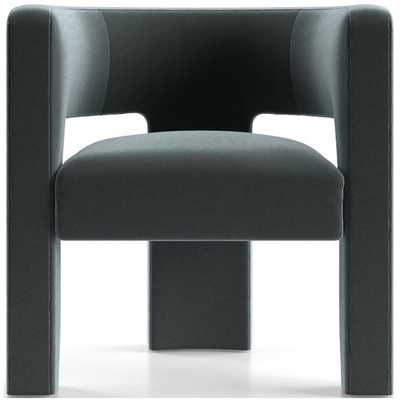 Sculpt Chair - Variety Lake - Crate and Barrel
