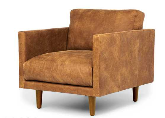 Nirvana Dakota Tan Lounge Chair - Article