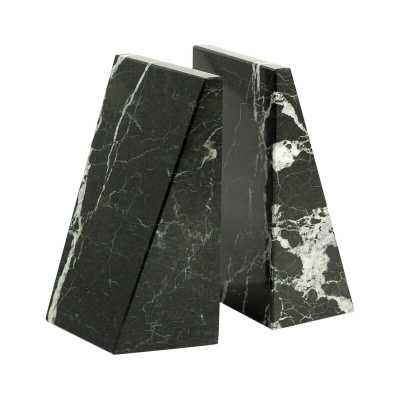 Marble Non-Skid Bookends - AllModern