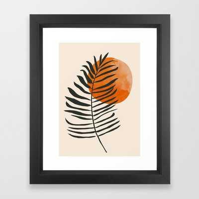 Minimal Art /Plant Framed Art Print by ThingDesign - Society6