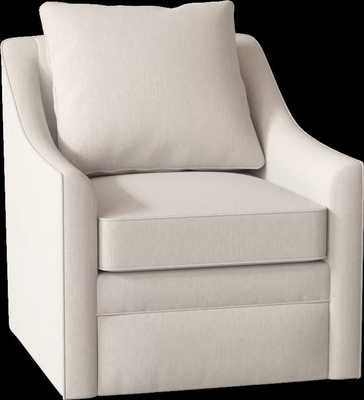 Quincy Swivel Armchair Max Bluff - Wayfair