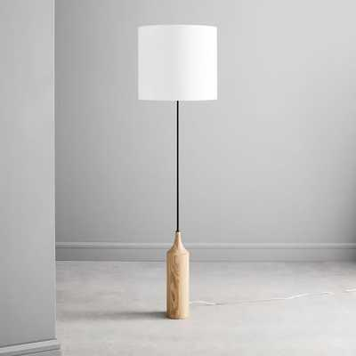 Hudson Wood Base Floor Lamp - West Elm