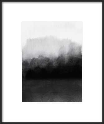 greyscale landscape by Iris Lehnhardt for Artfully Walls - With Matte - Artfully Walls